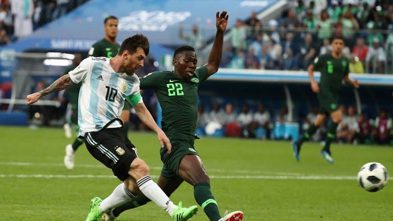 Gol de Messi a Nigeria Mundial de Rusia 2018