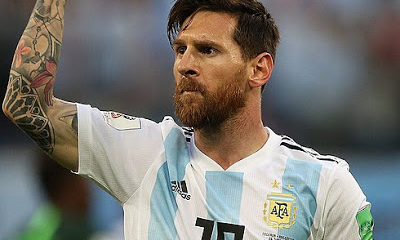 Messi en el Mundial de Rusia