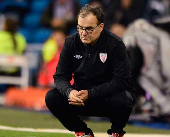 Marcelo Bielsa en el Athletic Club de Bilbao