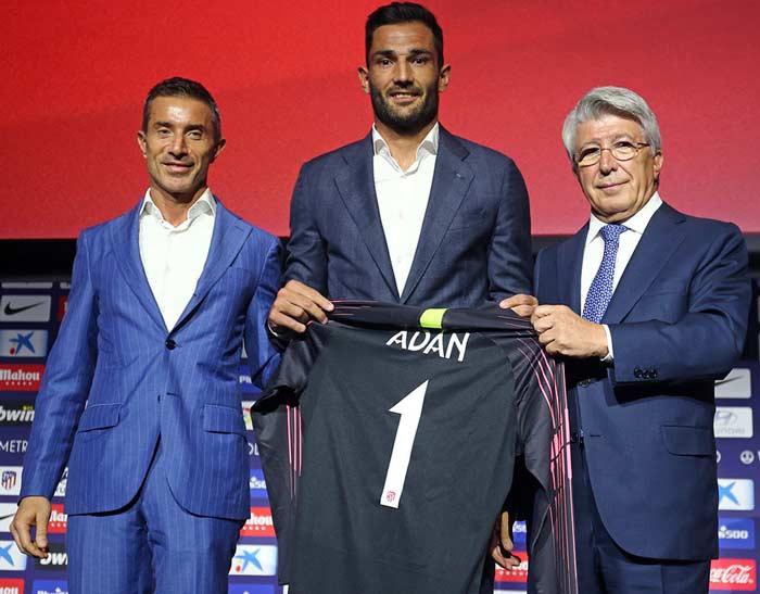 Adán ficha por el Atlético de Madrid