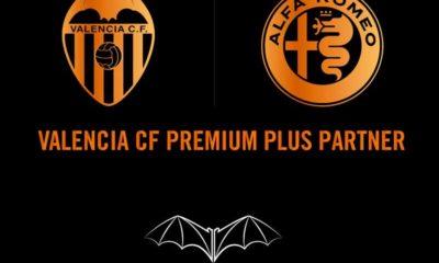 Valencia CF y Alfa Romeo renuevan su acuerdo de patrocinio para la temporada 2018-2019