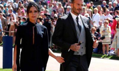La elegancia de David Beckham