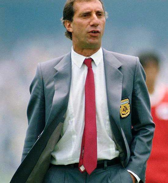 Bilardo, entrenador de Argentina