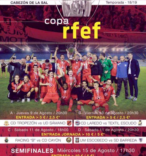 Federación Cántabra de Fútbol. Cartel Copa RFEF