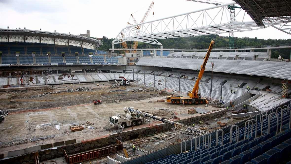 Remodelación estadio Anoeta 2018 Real Sociedad