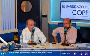 Juan Antonio Alcalá entrevista a José María García
