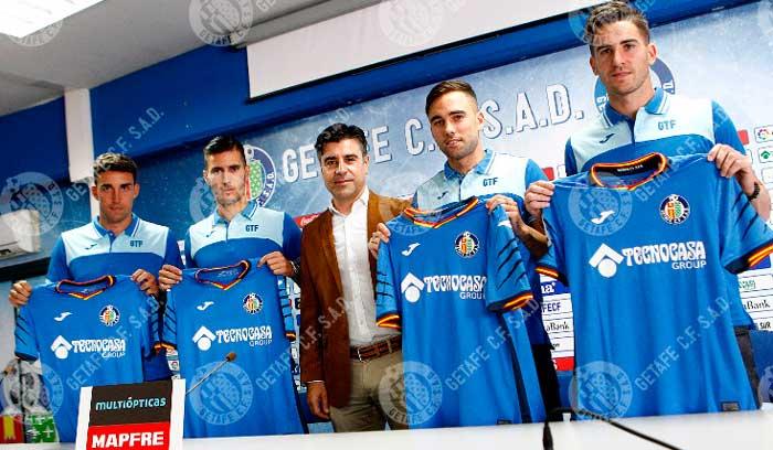 Chichizola, Jaime Mata, Sergi Guardiola y Rober Ibáñez, nuevos jugadores del Getafe