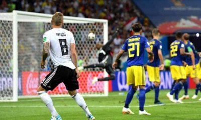 Gol de Toni Kroos a Suecia