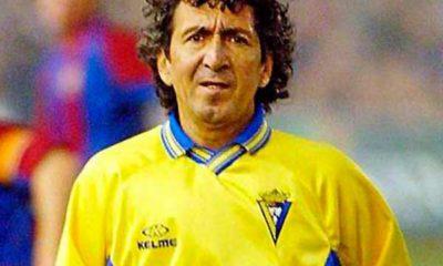 Mágico González, jugador del Cádiz