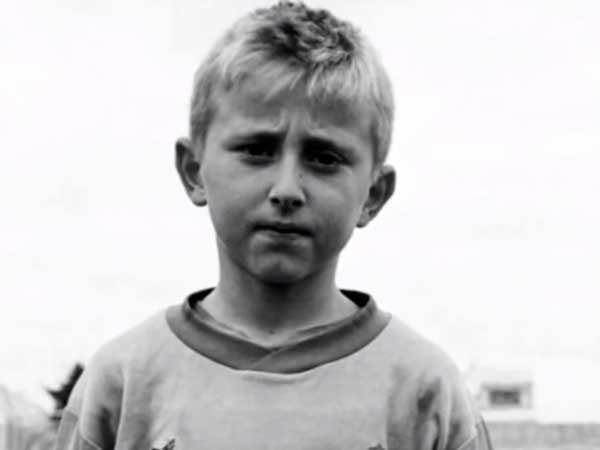 Luca Modric de pequeño