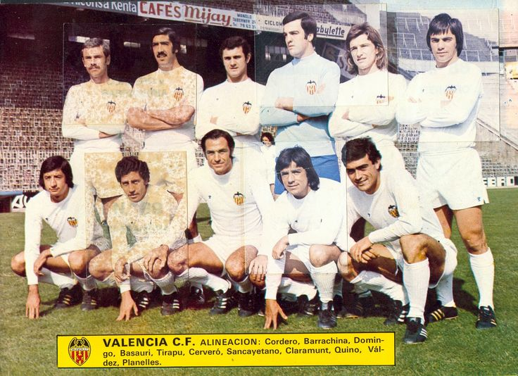 Tirapu en el Valencia CF