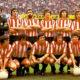 Tirapu, último de pie a la derecha, en el Athletic Club de Bilbao 1977-78