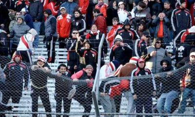 Violencia en los campos de fútbol