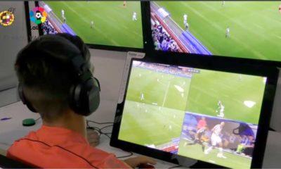 El VAR en el fútbol español