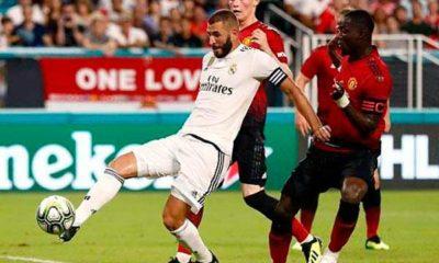Gol de Benzema al Manchester United