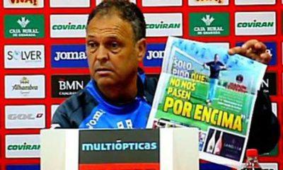Joaquín Caparrós y la portada del Marca