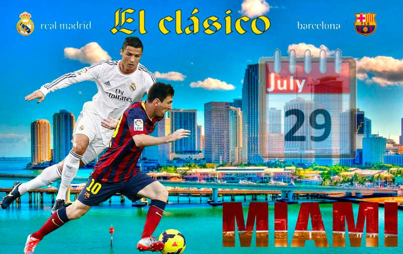 Real Madrid Barcelona en Miami