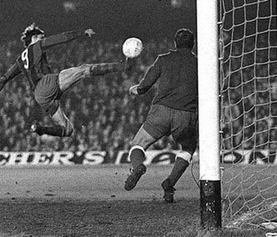 El gol de Cruyff a Reina