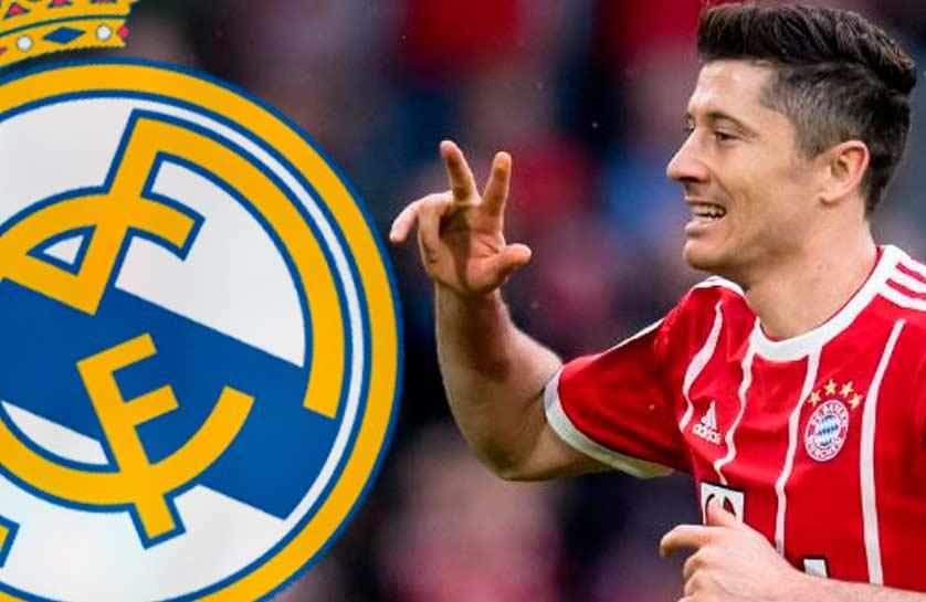 Lewandowski y su fichaje por el Real Madrid