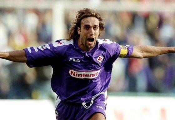 Batistuta en la Fiorentina