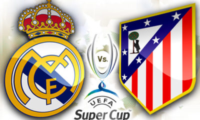 Supercopa de Europa Real Madrid Atlético de Madrid