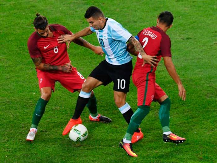 La presión en el fútbol