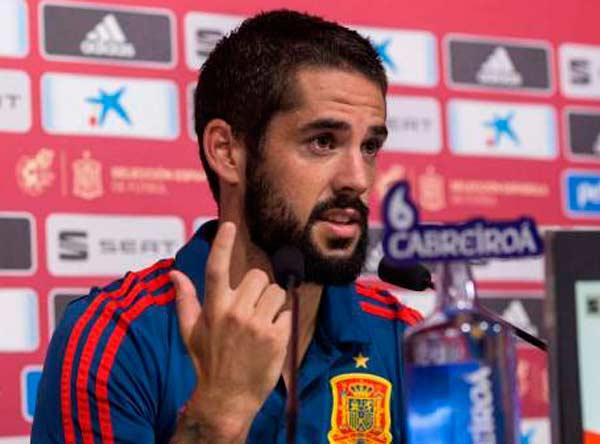 Isco Alarcón y Diego Torres