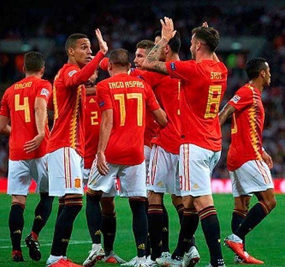 Victoria de la Selección Española de Fútbol en Inglaterra