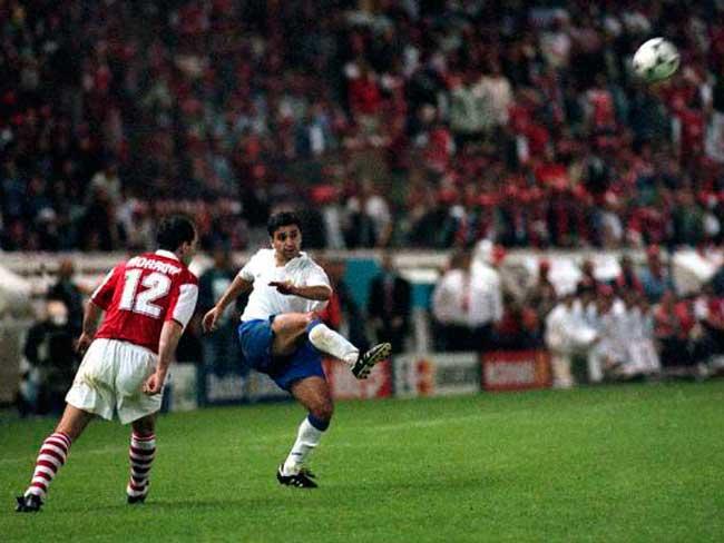 El gol de Nayim. Zaragoza - Arsenal