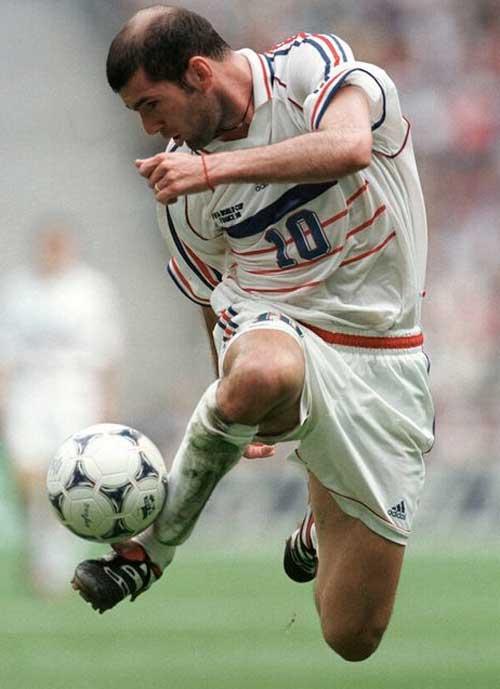 El control del balón de Zidane