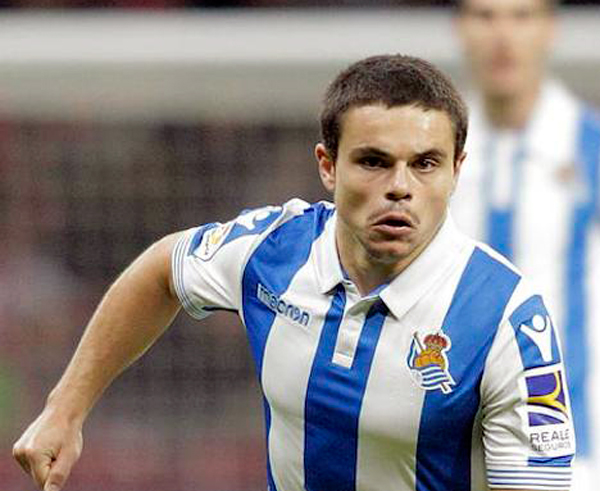 Luca Sangalli, jugador de la Real Sociedad