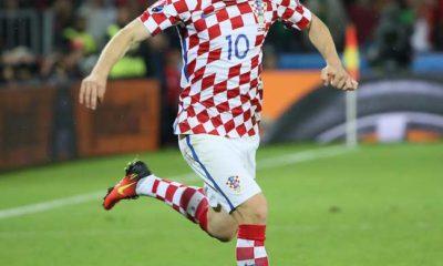 Luka Modric en la Selección Nacional de Croacia