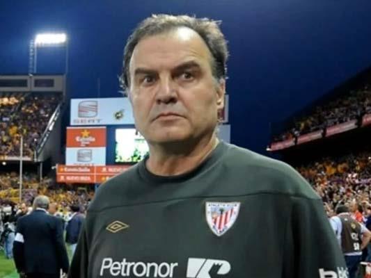 Una charla de Marcelo Bielsa a los jugadores del Athletic de Bilbao