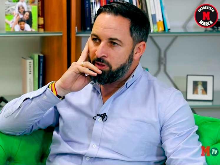 Santiago Abascal critica a Gerard Piqué