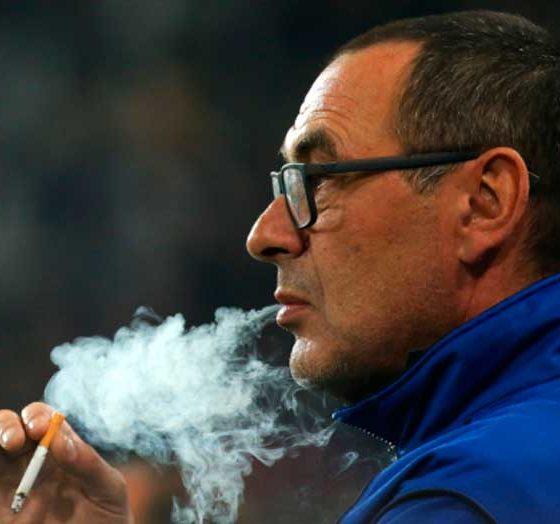 Maurizio Sarri, entrenador de fútbol