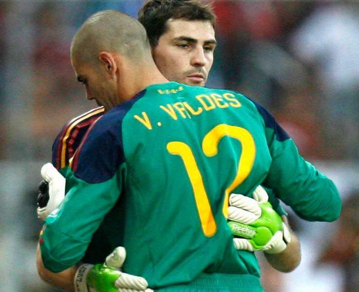 La carta de Víctor Valdés a Iker Casillas