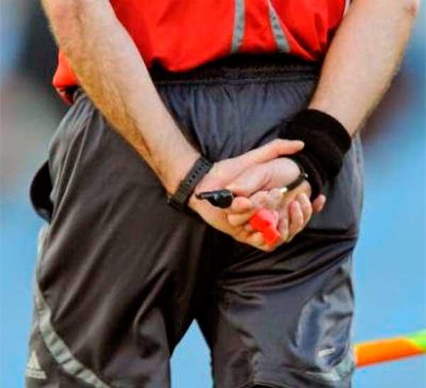 Estafa a árbitros de fútbol